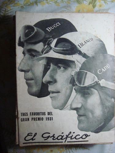 el gráfico 602 24/1/31 bucci blanco carú poster: chacarita