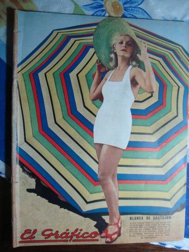el grafico 810 19/1/35 blanca de castejon poster: huracán