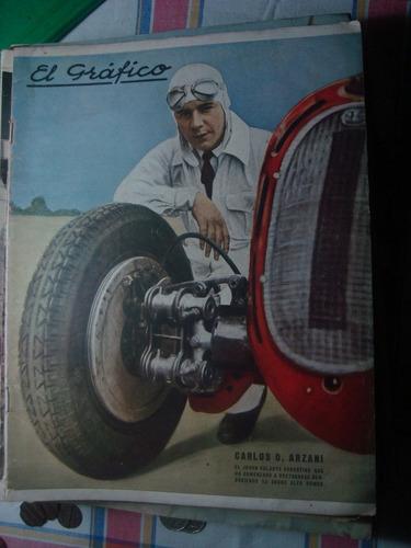 el gráfico 907 28/11/36 arzani racing vencio a independiente