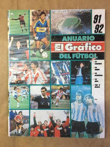 el gráfico anuario 91 92, deportes fútbol, c26