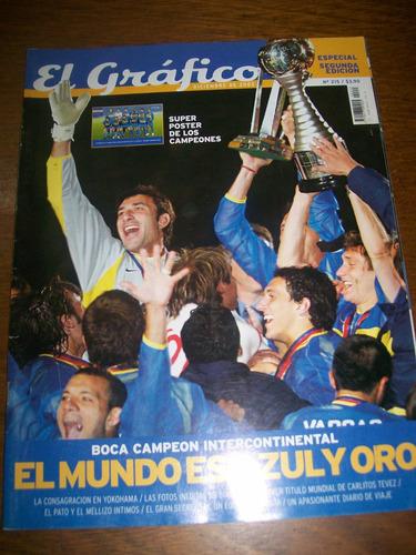 el gráfico especial 215 boca campeón intercontinental 2003