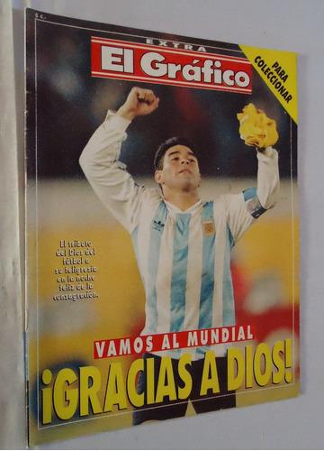el grafico extra nº 73 - maradona argentina australia 1993