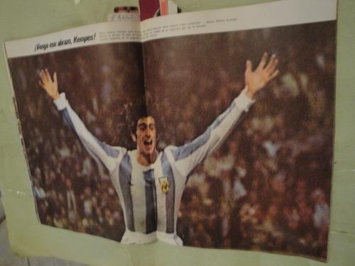 el grafico las 100 mejores fotos del mundial argentina 1978