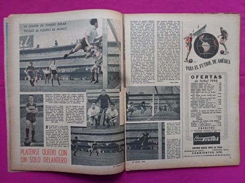 el grafico n° 1407 año 1946 raul luengo, river plate