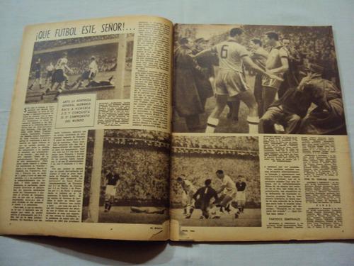 el grafico nº 1822 - alemania campeon mundial suiza 1954
