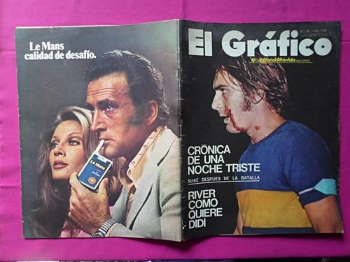 el grafico nº 2685, año: 1971, suñe, boca juniors, onega