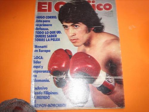 el grafico n* 3069 boxeo 1978 boca menotti alemania