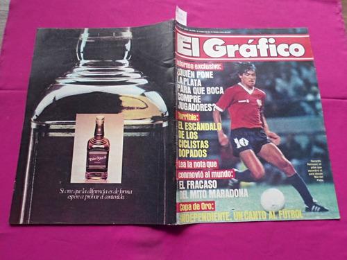 el grafico nº 3410 12/2/1985 reinoso independiente boca