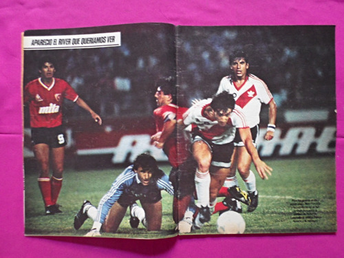 el grafico nº 3563, año: 1988, river, ruggeri, reutemann