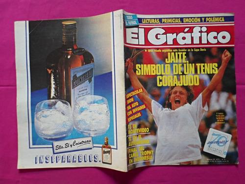 el grafico nº 3575, año: 1988, jaite, boca, coggi, casla
