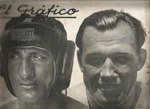 el grafico / nª 585 / 1930 / victorio campolo - jack sharkey