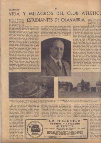 el grafico / n° 878 / 1936 / humberto savoia y jaime averboc