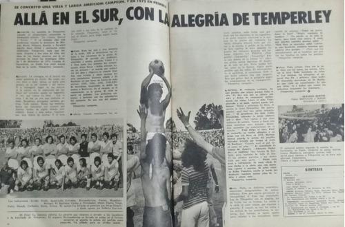 el grafico n°2879.galindez.temperley campeon primera b 1974