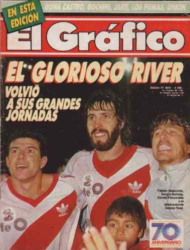 el grafico nº3643 1/8/1989 - el glorioso river, boca