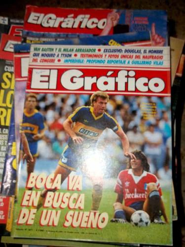 el gráfico.60 revistas.déc. del ;' 80 y ' 90.precio c/u