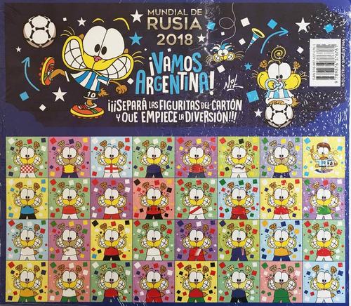 el gran desafío gaturro y lio + figuritas mundial rusia 2018