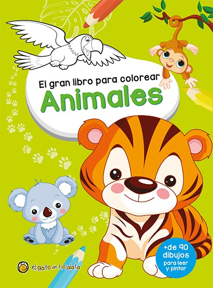 El Gran Libro Para Colorear Libro Para Niños - $ 119,00 en Mercado Libre
