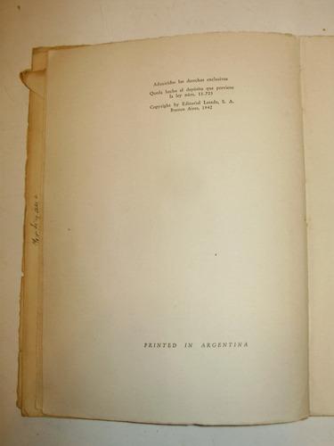 el grillo claro desvelo conrado nale roxlo losada arg 1942