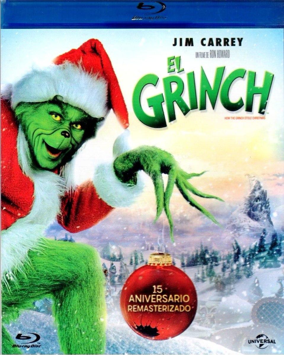 Imagenes De Grinch De Buenos Dias.El Grinch 15 Aniversario Jim Carrey Pelicula Blu Ray