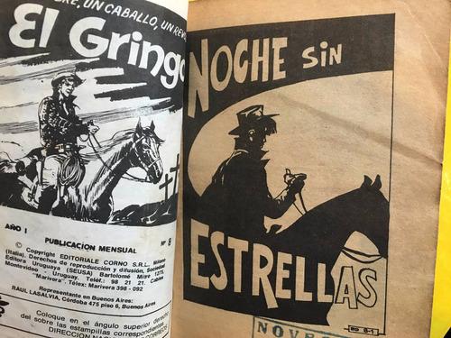 el gringo, 2 revistas, historietas del oeste, 120 pag, seusa