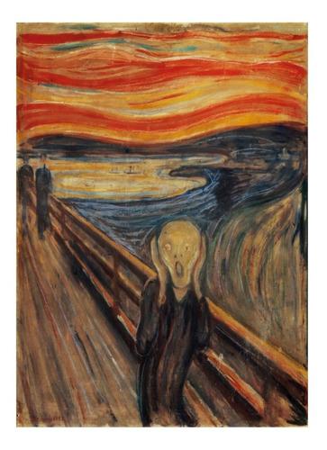 el grito munch arte rompecabezas 1000 piezas clementoni