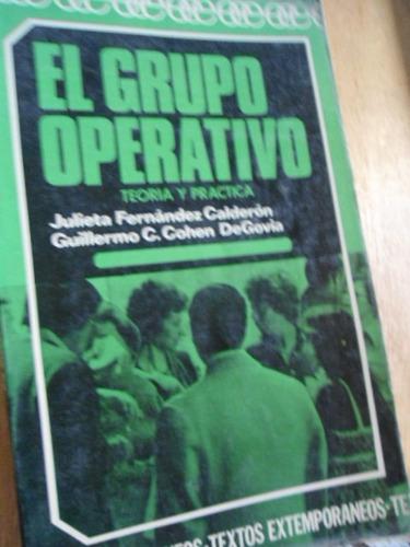 el grupo operativo teoría y práctica julieta fernández
