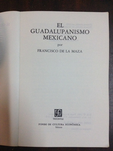 el guadalupanismo mexicano