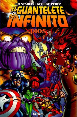 el guantelete del infinito (comic digital) cbr