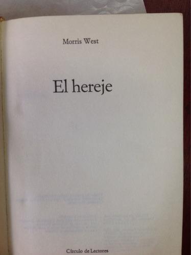 el hereje por morris west
