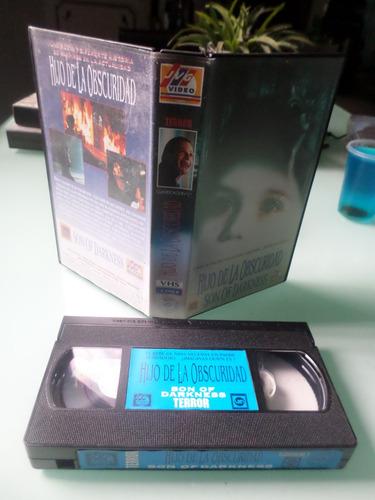 el hijo de la obscuridad - 1991 vhs terror vampiros