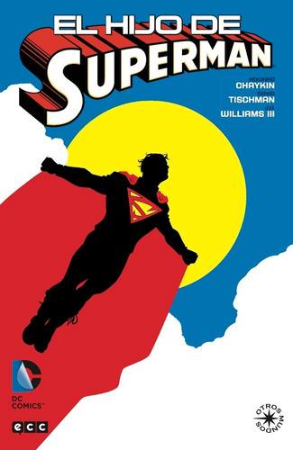 el hijo de superman - dc ecc comics - robot negro