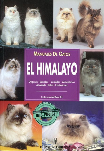 el himalayo - manual de gatos, mcdonald, hispano europea