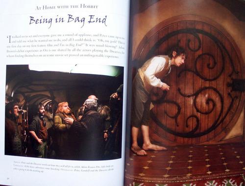 el hobbit d tolkien: guía oficial de la película n preventa!