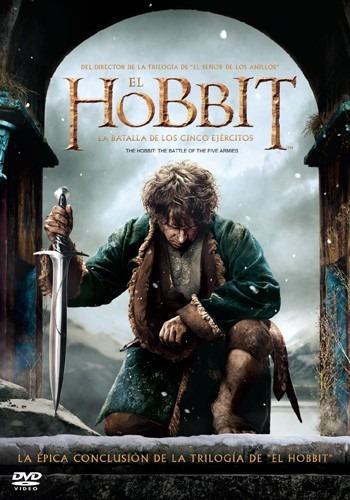 el hobbit la batalla de los cinco ejercitos pelicula dvd