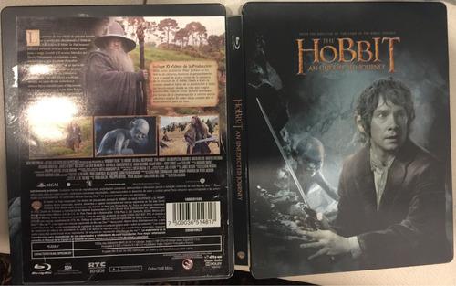 el hobbit - un viaje inesperado blu ray + dvd nueva