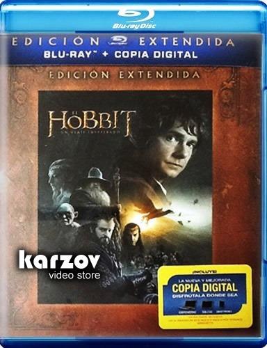 el hobbit un viaje inesperado edicion extendida blu-ray