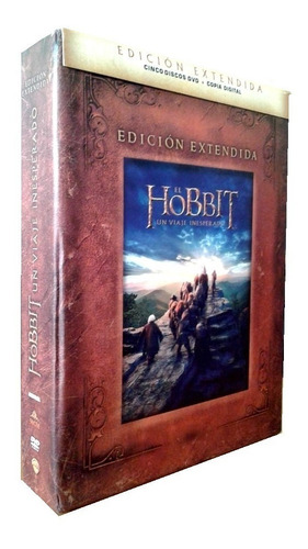 el hobbit un viaje inesperado extendida pelicula origina dvd