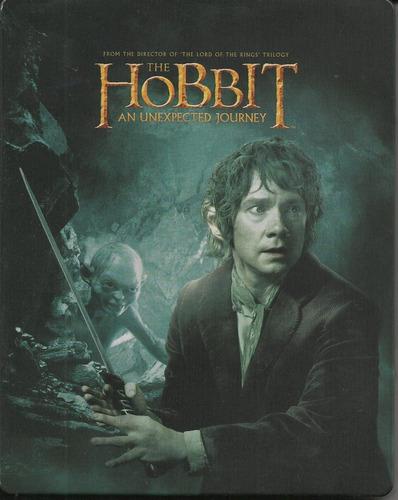 el hobbit un viaje inesperado steelbook blu-ray + dvd