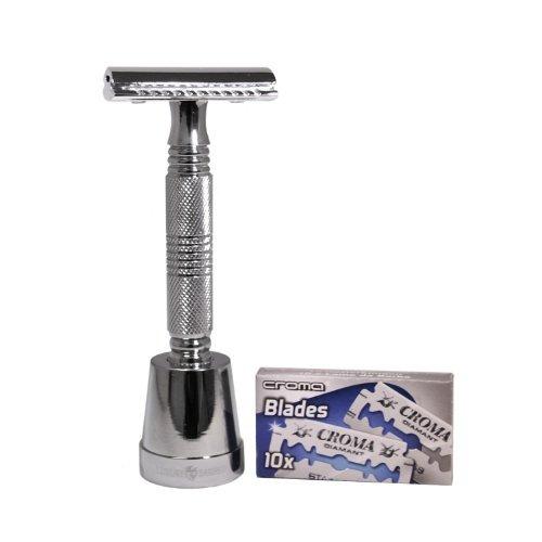 el hoff de doble borde safty navaja de afeitar por barber