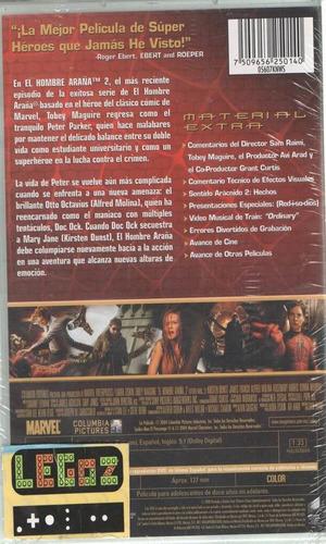 el hombre arana 2 - dvd