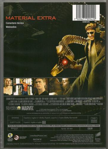 el hombre araña 2 - en dvd