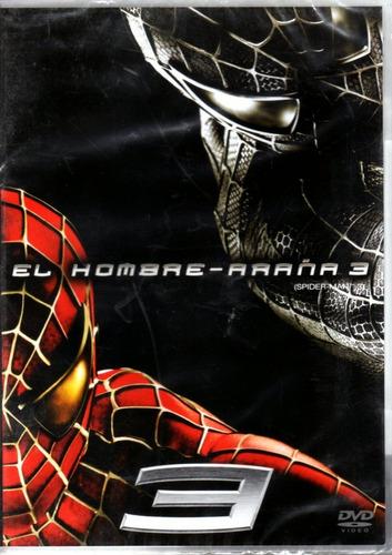 el hombre araña 3 ( marvel ) dvd original nuevo sellado