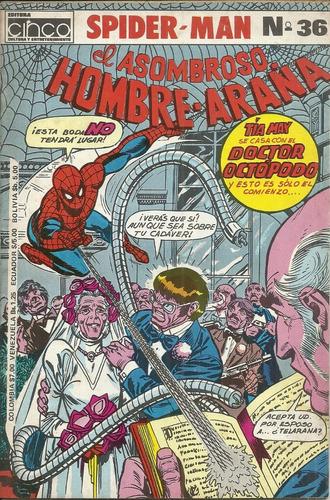 el hombre araña cinco 36
