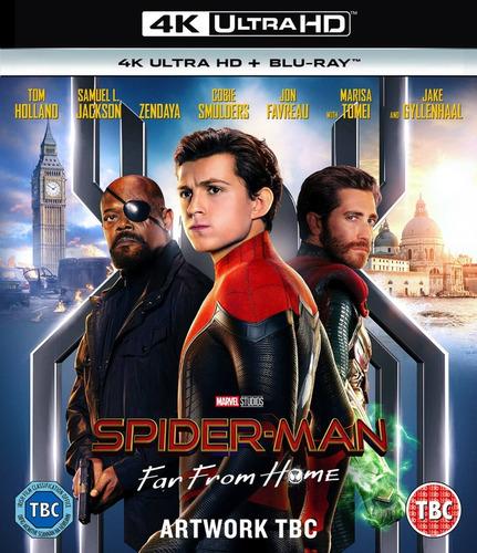 el hombre araña lejos de casa dvds final full !!!
