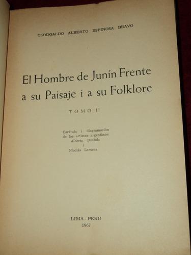 el hombre de junin su paisaje y su folklore espinosa bravo