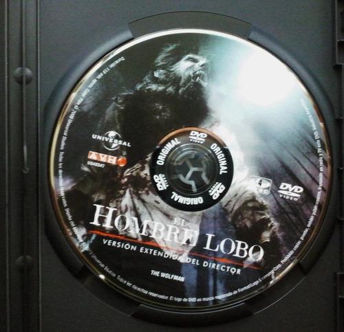 el hombre lobo * extended * - dvd nuevo - widescreen