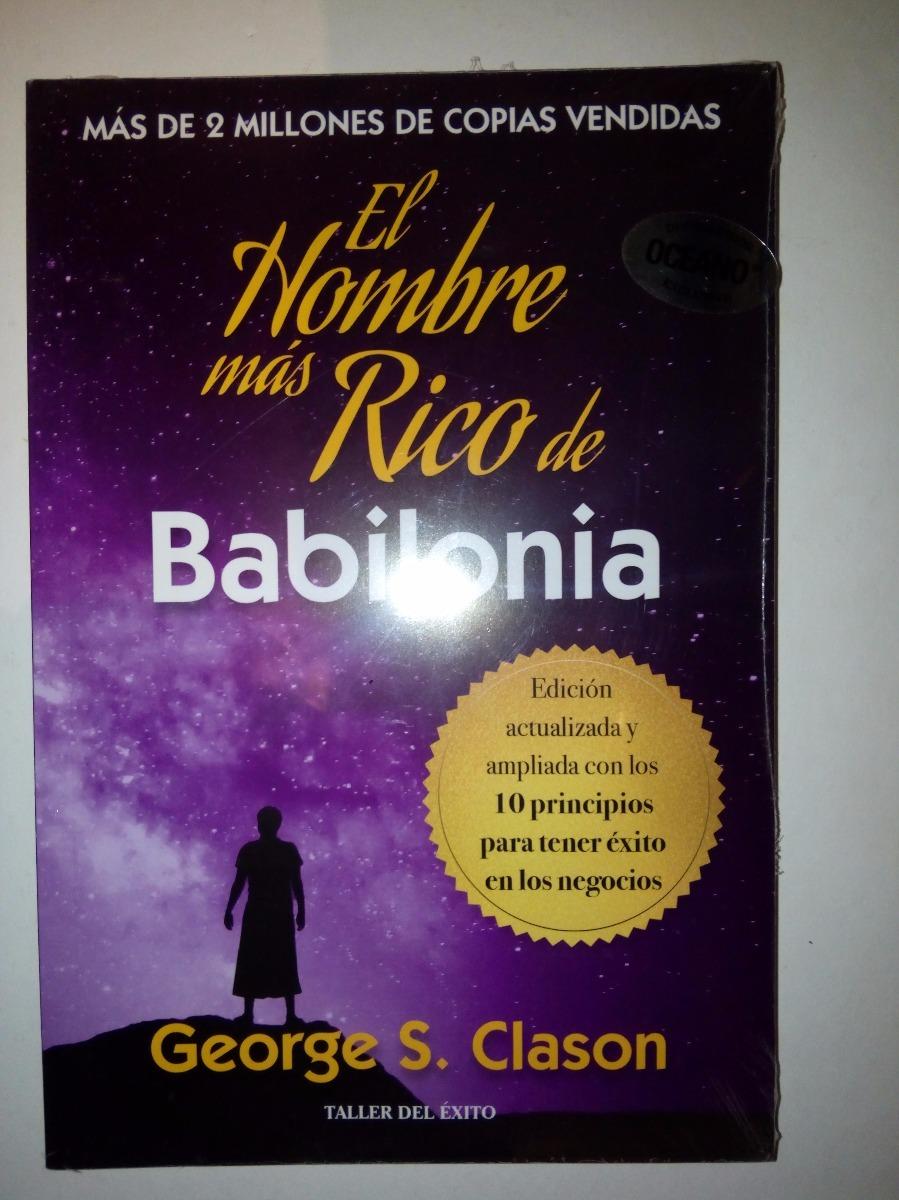 El Hombre Más Rico De Babilonia George S Clason - $ 365.00 en Mercado Libre