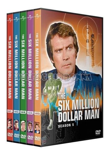 el hombre nuclear serie completa 5 temporadas dvd latino