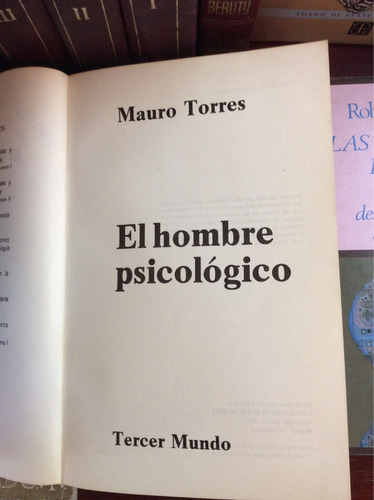 el hombre psicológico, mauro torres