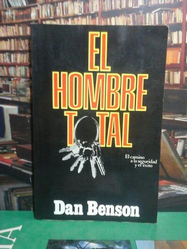 el hombre total, dan benson, novela.